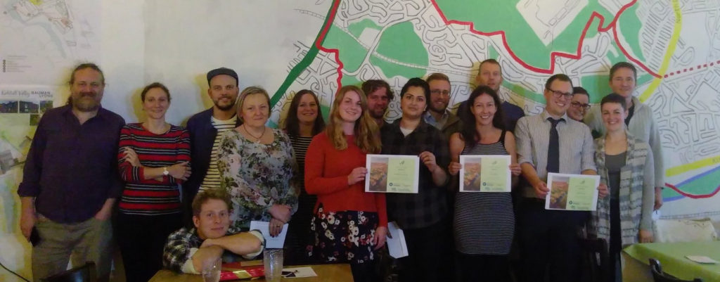 Award winners and attendees at the second Kirkstall Valley Grants awards evening